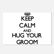Keep Calm and Hug your Groom Postcards (Package of