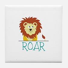 Roar Tile Coaster