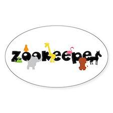 Zoo keeper Decal