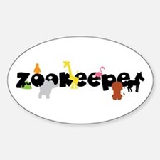 Zoo keeper Decal