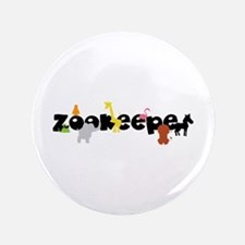"Zoo keeper 3.5"" Button"
