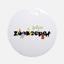 Future zoo keeper Ornament (Round)