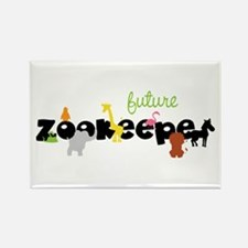 Future zoo keeper Magnets