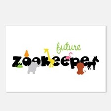 Future zoo keeper Postcards (Package of 8)