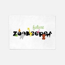 Future zoo keeper 5'x7'Area Rug
