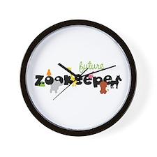 Future zoo keeper Wall Clock