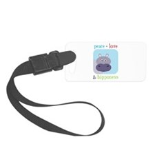 Hipponess Luggage Tag