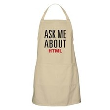 HTML - Ask Me About - Apron