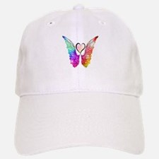 Angel Wings Heart Baseball Baseball Baseball Cap