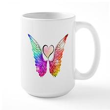 Angel Wings Heart Mugs