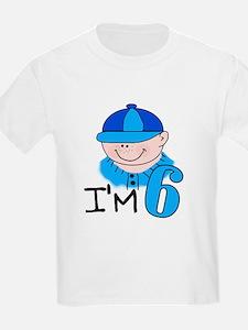 I'm 6 (boy) Kids T-Shirt