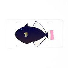 Pinktail Triggerfish aka Paletail Durgon Aluminum