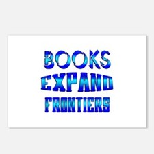 Books Expand Frontiers Postcards (Package of 8)