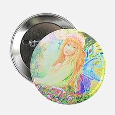 """Garden Angel 2.25"""" Button"""