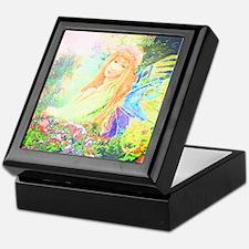 Garden Angel Keepsake Box