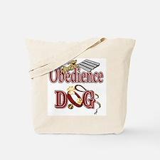 Obedience Dog Tote Bag