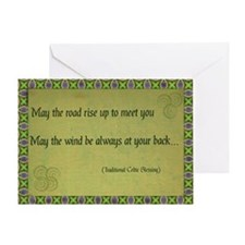 Celtic Blessing Greeting Card