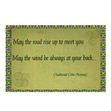 Celtic Blessing Postcards (Package of 8)