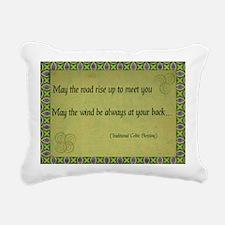 Celtic Blessing Rectangular Canvas Pillow