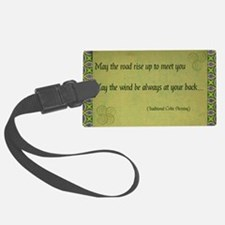 Celtic Blessing Luggage Tag