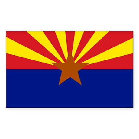 Arizona Rectangle Sticker