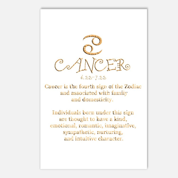 Cancer Postcards (Package of 8)