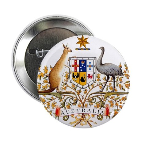 Autralia's Coat of Arms Button
