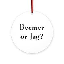 Beemer Jag Ornament (Round) Ornament (Round)