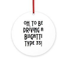 bugatti Ornament (Round)
