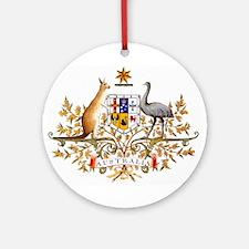 Autralia's Coat of Arms Ornament (Round)