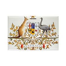 Autralia's Coat of Arms Rectangle Magnet