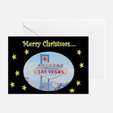 Las Vegas Christmas Cards Pk of 10