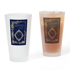Phan Wish Quote~ Phantom Phantasia Drinking Glass