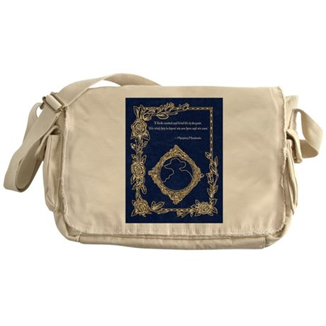 Phan Wish Quote~ Phantom Phantasia Messenger Bag