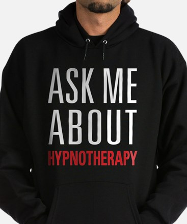 Hypnotherapy - Ask Me About - Hoodie (dark)