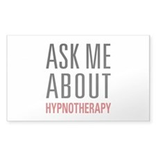 Hypnotherapy - Ask Me Ab Decal