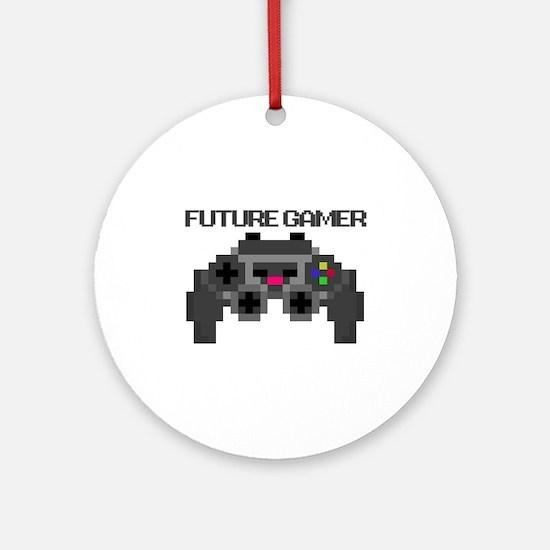 Future Gamer Ornament (Round)
