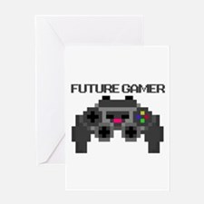 Future Gamer Greeting Card