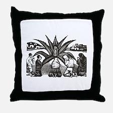 Posada - Milagro - Guadalupe Throw Pillow