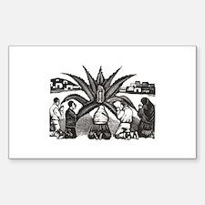 Posada - Milagro - Guadalupe Rectangle Decal