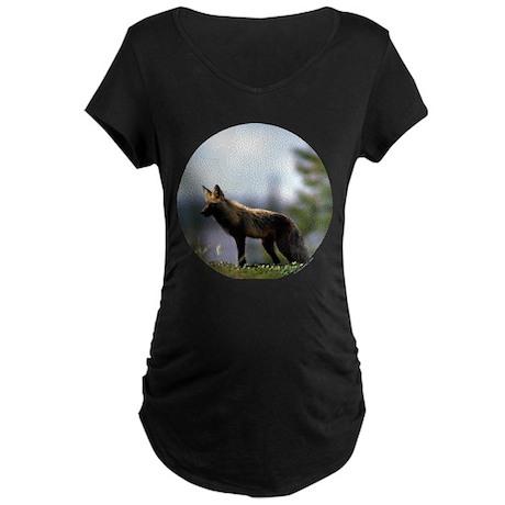 Fox Maternity Dark T-Shirt