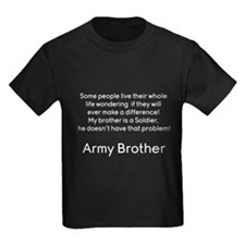 Army Brother No Problem Brother T-Shirt