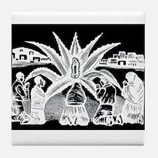 Milagro - Guadalupe - Posada Tile Coaster