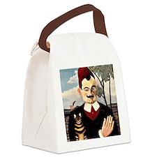 Henri Rousseau - Portrait of Mons Canvas Lunch Bag