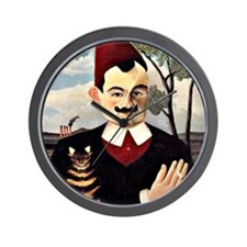 Henri Rousseau - Portrait of Monsieur X Wall Clock