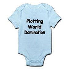 Plotting World Domination Body Suit
