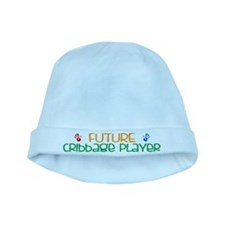 Future Cribbage player baby hat