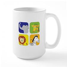 Zoo Animals Mugs