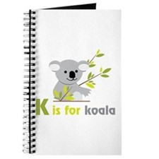 K is For koala Journal