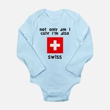 Cute And Swiss Body Suit